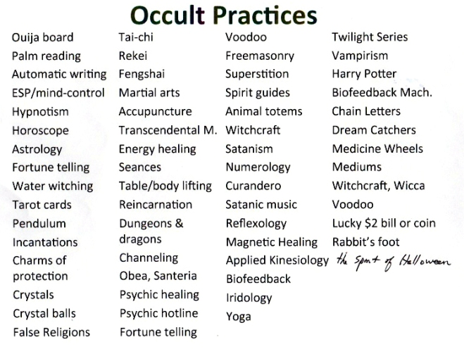 Occult-Practices
