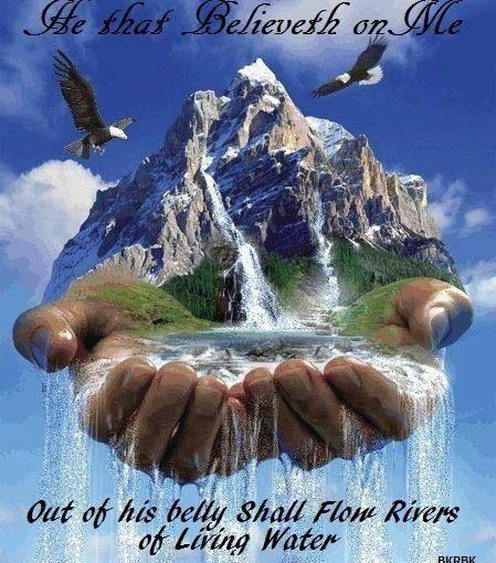 Out of Your Belly Shall Flow Living Waters. What's in your gut?